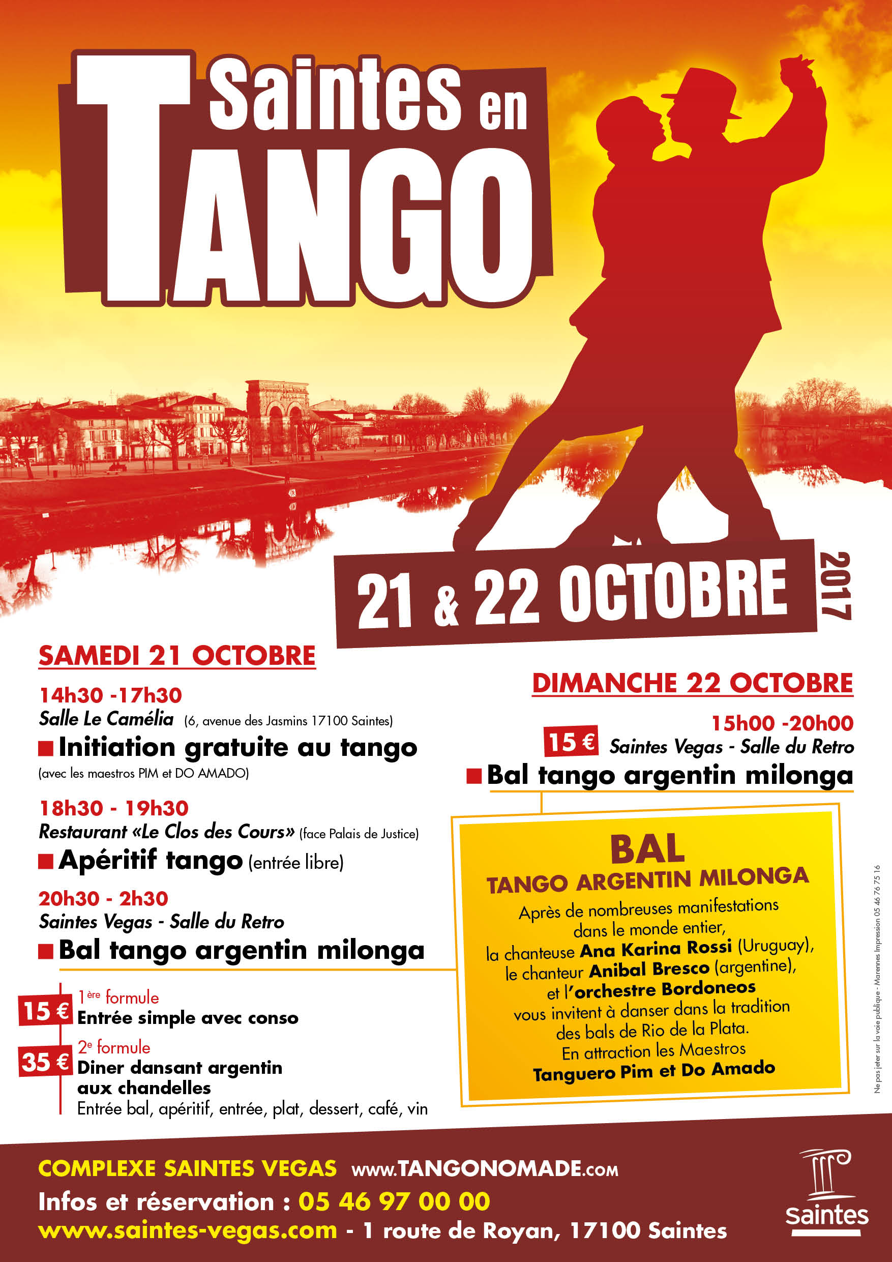 spectacle tango argentin